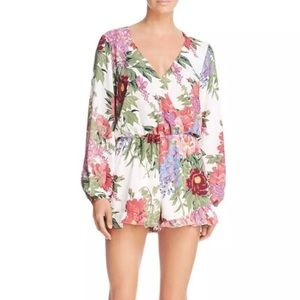Show me your mumu floral rocky romper small